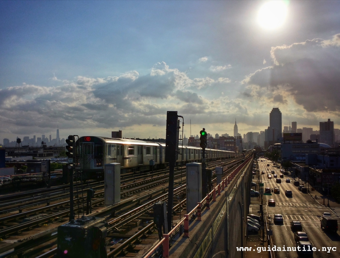 New York, Manhattan, Subway, metropolitana, Queens, Sunnyside