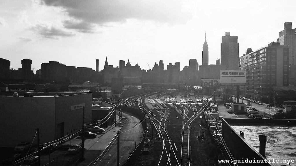 Manhattan, Pulaski Bridge, Queens