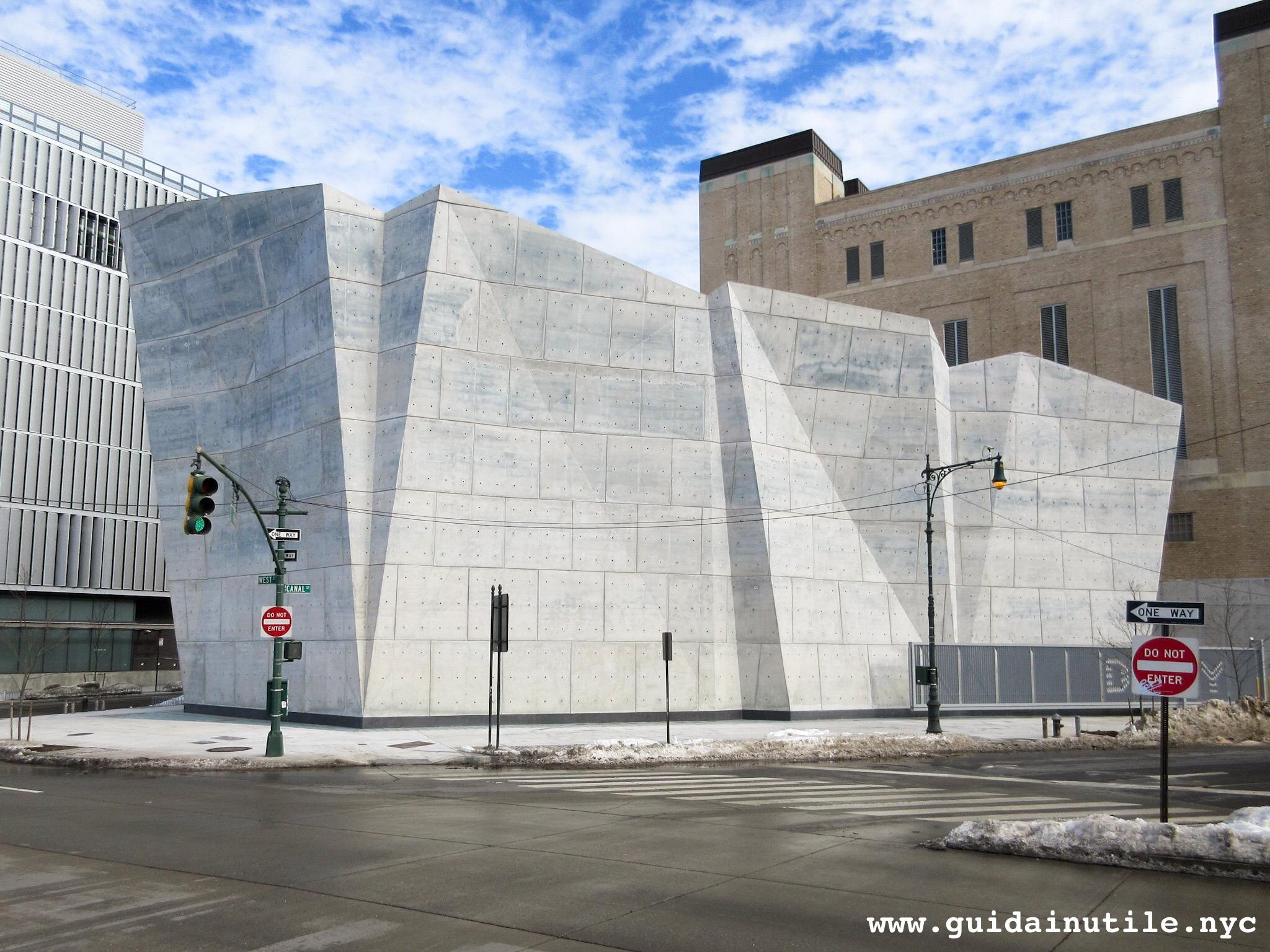 Architettura, Deposito sale stradale, Salt Shed, Hudson Square, Manhattan, New York City