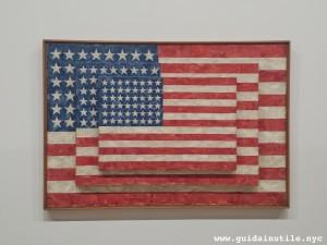 Jasper Jones, Three Flags, Whitney Museum of American Art, New York City