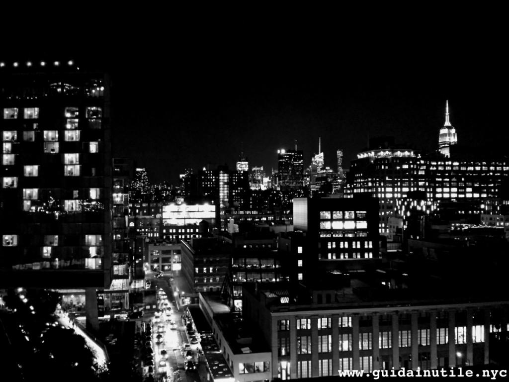 Manhattan, skyline, Whitney Museum