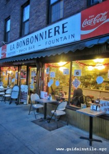 La Bonnonniere, mangiare, New York, Greenwich Village, diner, luncheonette
