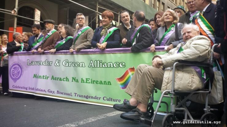 St. Patrick's Day, New York, Manhattan, Lavender & Green Alliance, parade