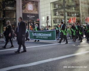 Out@NBCUniversal, LGBT, gay, lesbian, transgender, St. Patrick's Day, New York, 2016
