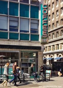 Coffee Shop, Union Square, Diner, New York City, New York, Manhattan