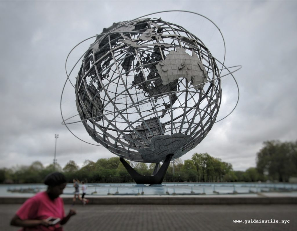 Queens, Flushing Meadows-Corona Park, Unisphere, Unisfera, New York, New York City
