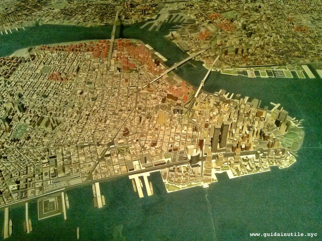 Queens Museum, Queens, Panorama of the City of New York, New York, New York City, Manhattan, Twin Towers