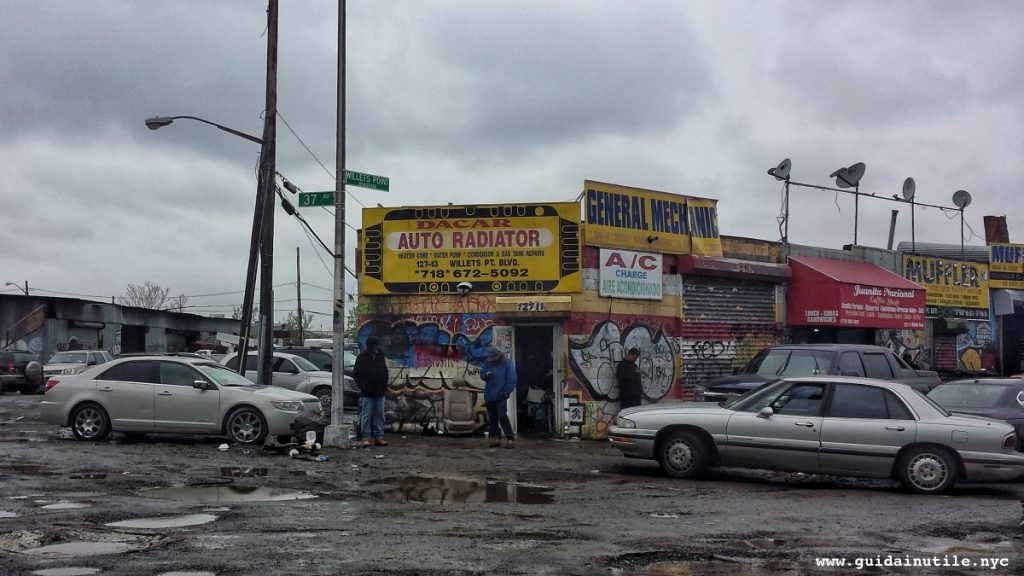 Queens, Willets Point Boulevard, Willets Point, New York, New York City