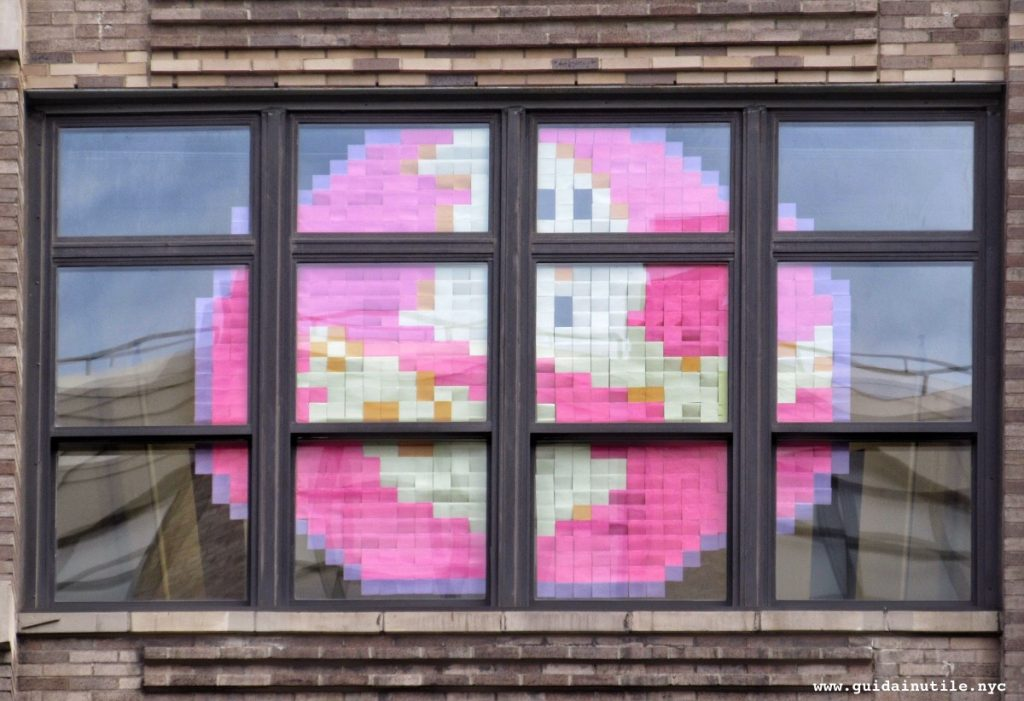 Post-it War, Ghostbusters, Canal Street, New York, New York City, Manhattan