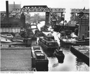 Gowanus Canal, Brooklyn, New York City, New York, Gowanus