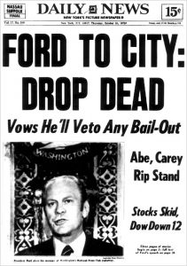Ford, Drop Dead, New York City
