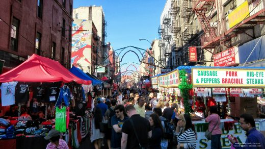 San Gennaro, New York, Manhattan