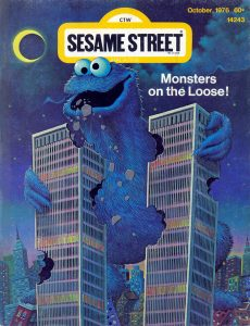 Sesame Street, Cookie Monster, Twin Towers, World Trade Center