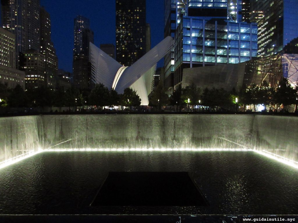 North Pool, World Trade Center, 9/11 Memorial, Oculus, Calatrava, WTC