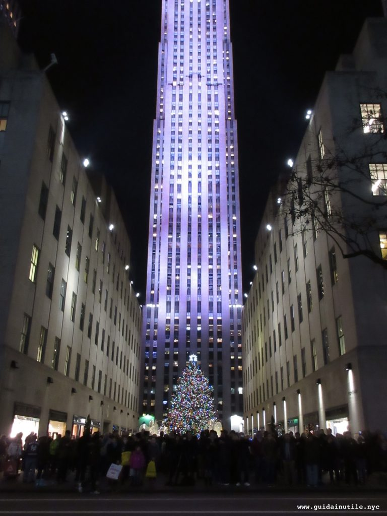 Natale, New York, New York City, Christmas, Christmas Tree, Rockefeller Center