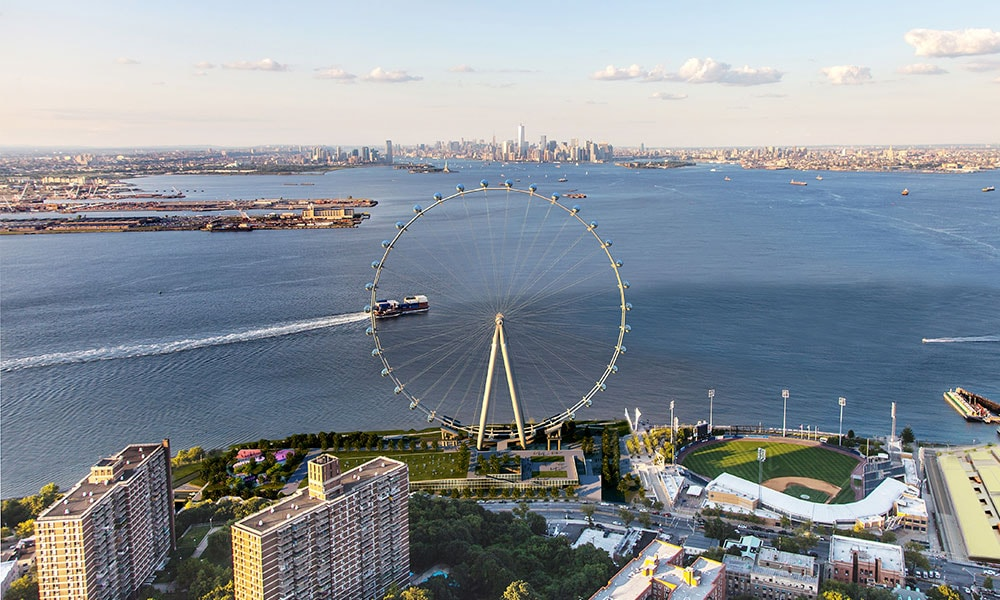 State Island Wheel, Staten Island, ruota panoramica di New York, New York City