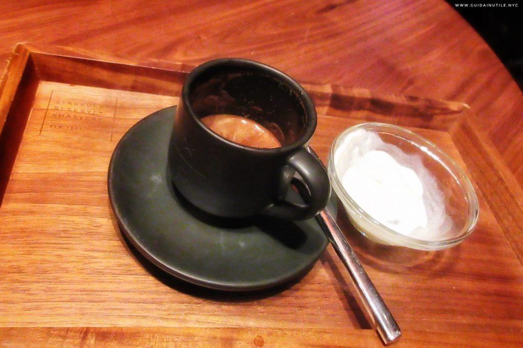 Starbucks Roastery New York City, caffè
