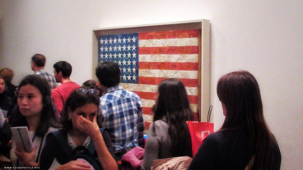 MoMA, MOMA, Moma, MoMA NYC, MoMA New York, Jasper Johns, Flag
