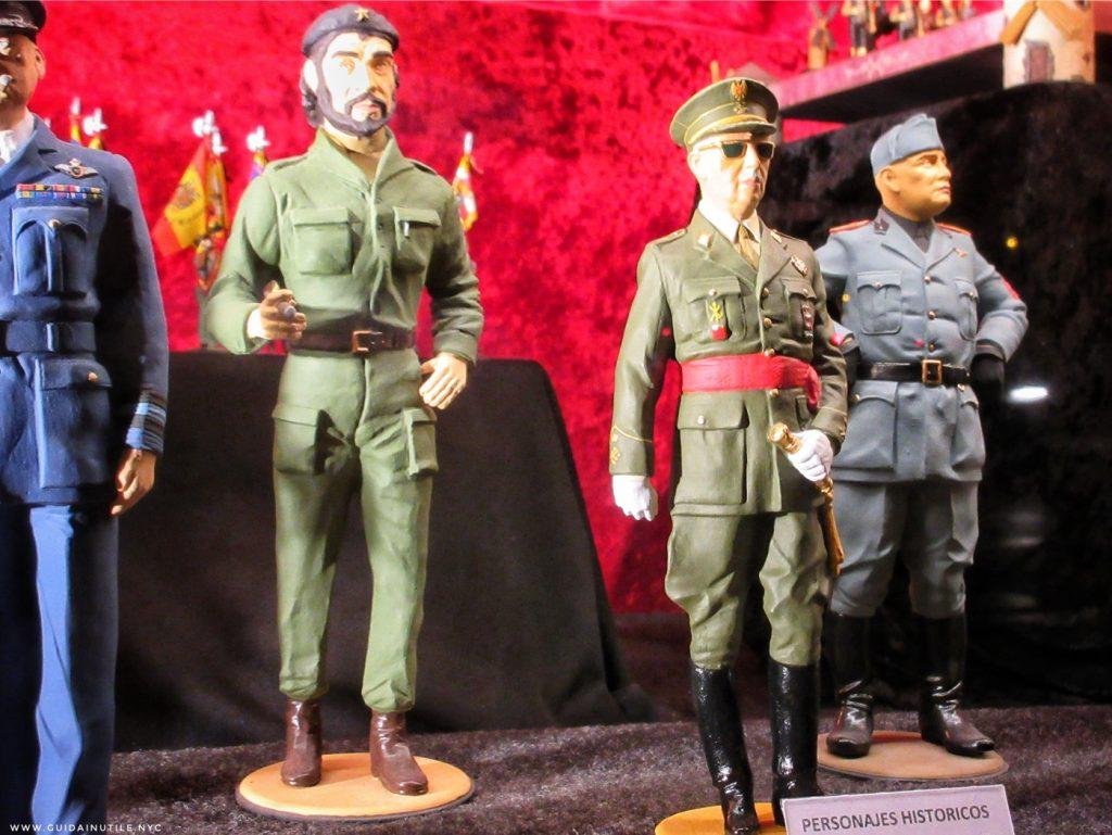 Generalissimo Francisco Franco, Benito Mussolini, Che Guevara, Madrid