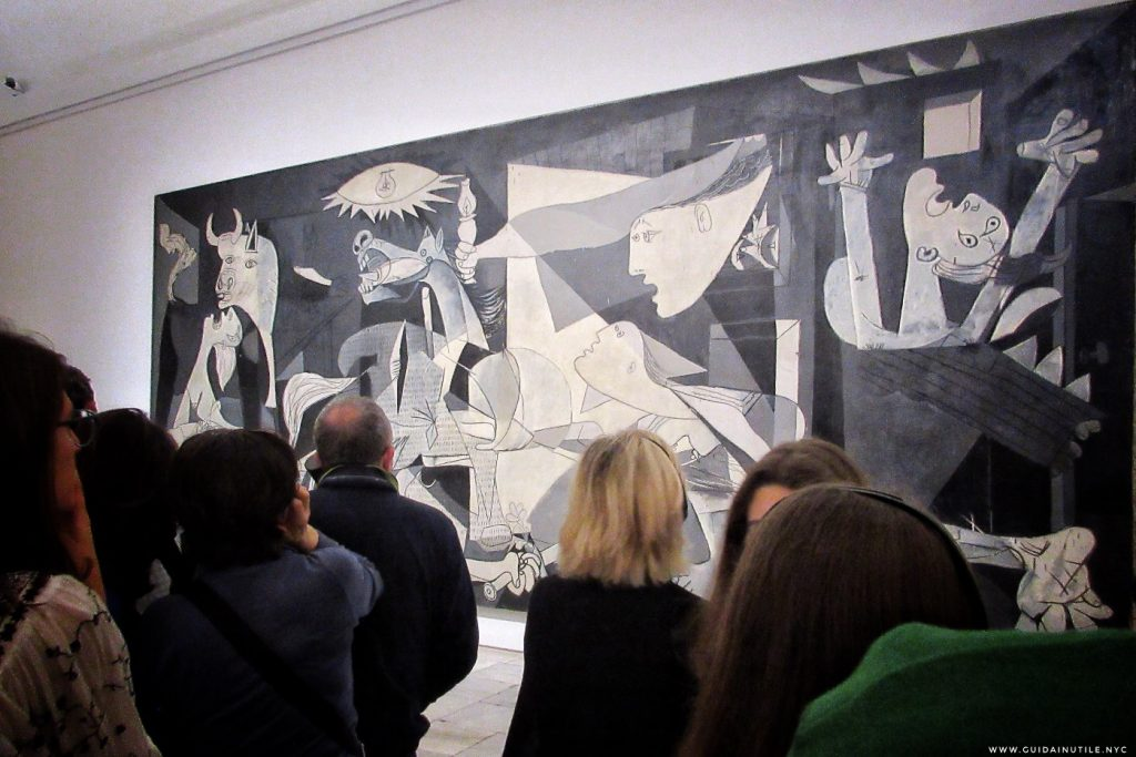 Pablo Picasso Guernica, Guernica, Madrid, Museo Reina Sofia, Guida Inutile Madrid, Guida di Madrid, Guida Madrid