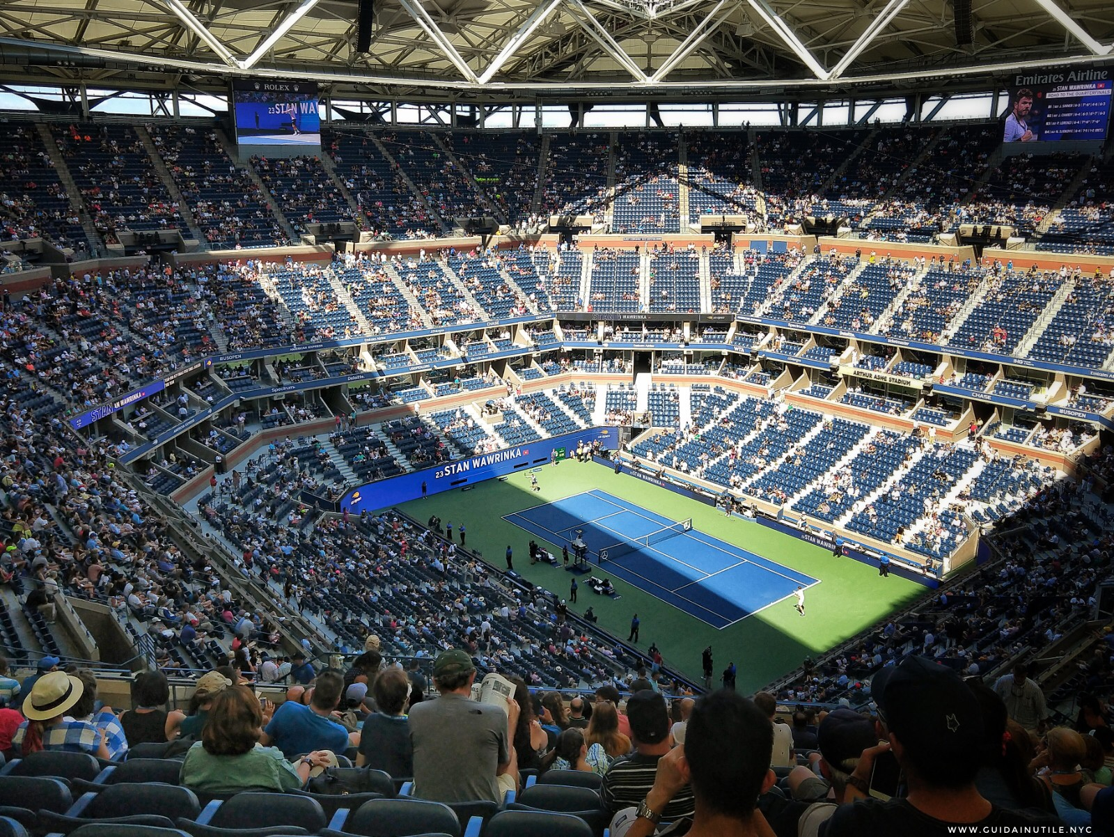 US Open, Arthur Ashe Stadium, USTA Billie Jean King National Tennis Center, US Open 2019