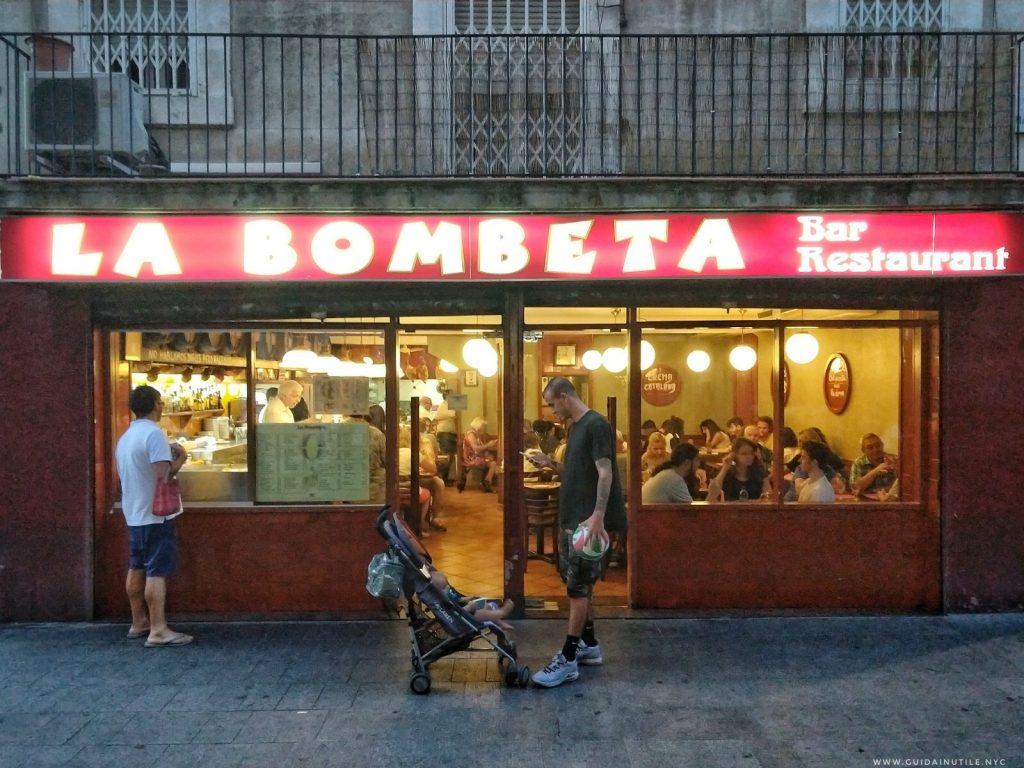 Barcellona, Barceloneta, La Bombeta