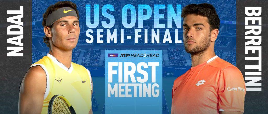 Matteo Berrettini, Rafael Nadal, US Open 2019, US Open