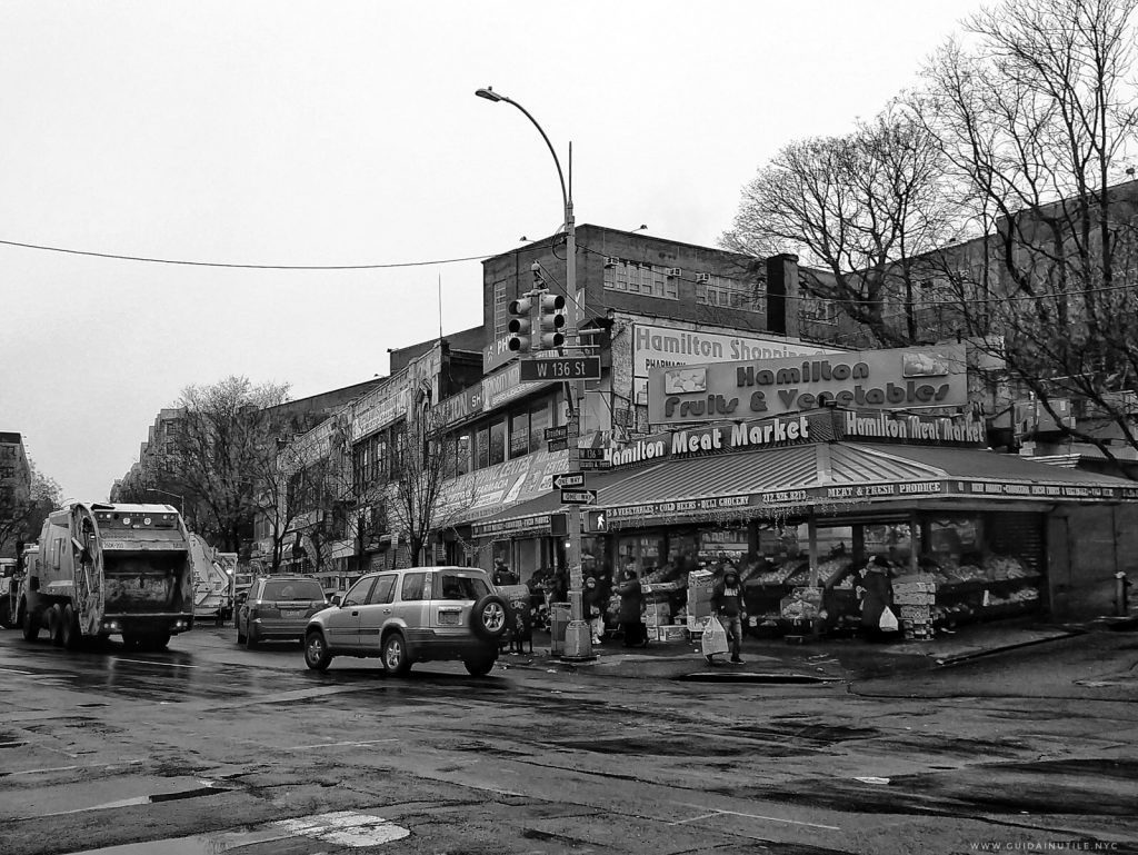 Frutta e verdura a West Harlem, New York