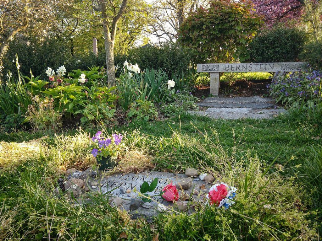 Green-Wood Cemetery, Leonard Bernstein burial, Cimitero di Green-Wood, la tomba di Leonard Bernstein