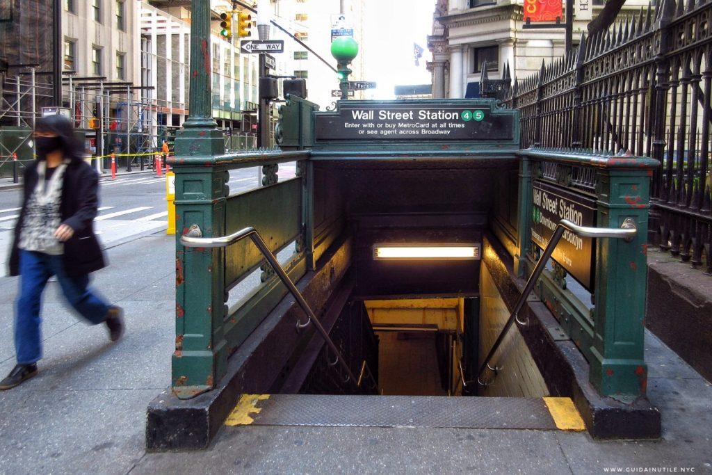 Wall Street Station, Broadway, New York