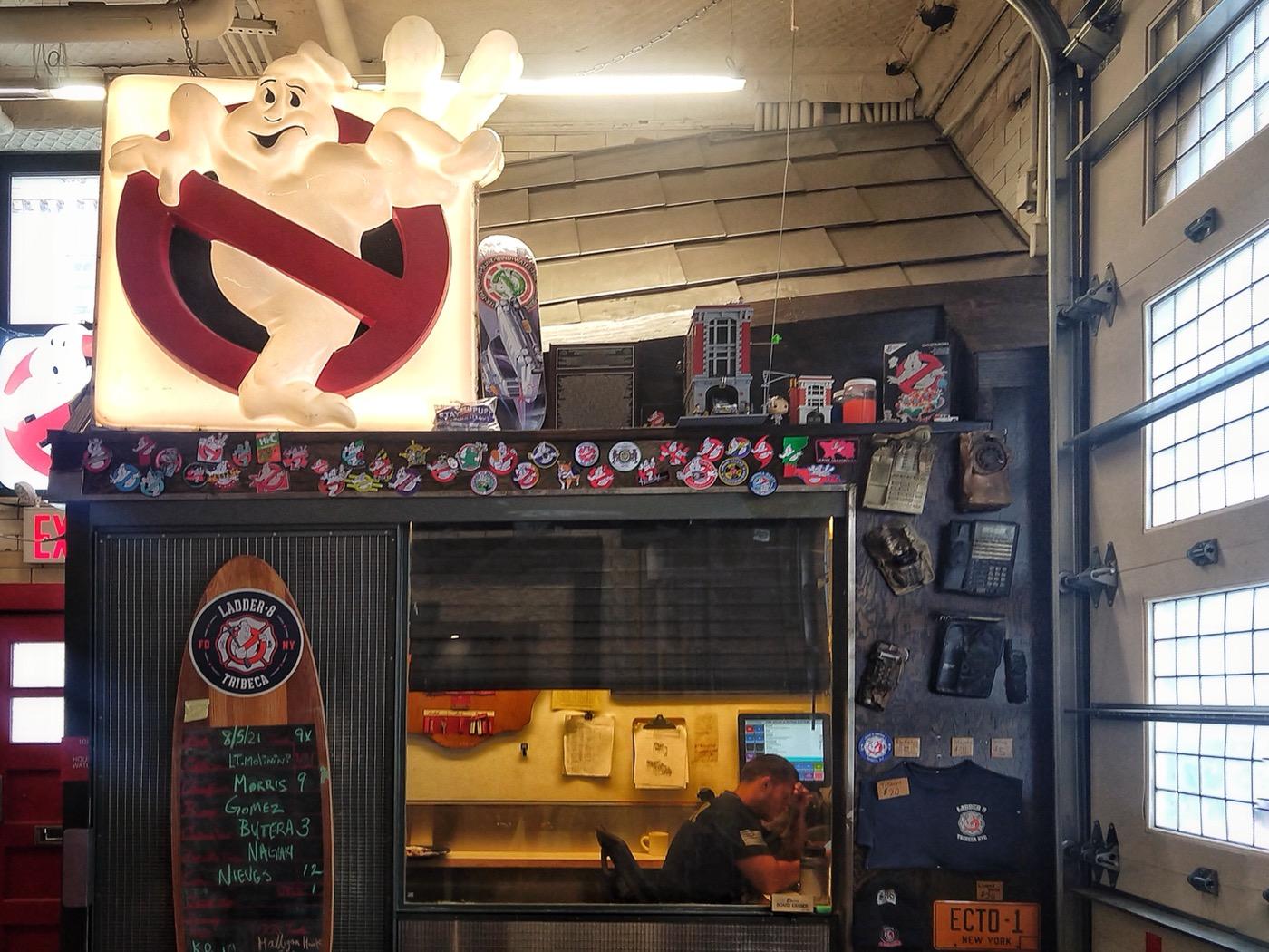 "Ghostbusters Headquarters a.k.a. ""New York Fire Department - Ladder 8 (Manhattan)"""